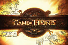 GAME OF THRONES OPENING LOGO POSTER  91.5 X 61 CM OFFICIAL MERCHANDISE