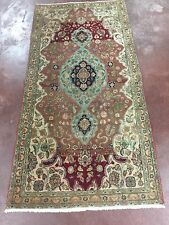 "Great Deal Beautiful Hand Knotted Tabriz  Persian Rug Runner  3x6,2'7""x5'7''"