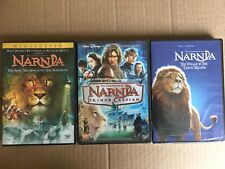 The Chronicles of Narnia Dvd Trilogy 3 Movies Collection New + Spanish Audio