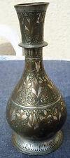 ancien vase en métal ciselé art islam syrie iran ??? art populaire ethnique