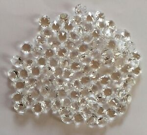 100 x 16mm Glass Octagons Chandelier Parts Spares Crafts