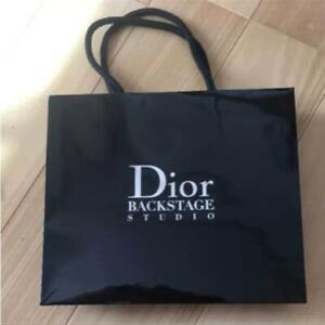 Authentic Dior Backstage Studio Gift Bag - Black -  22 x 19 x 7 cm