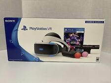 PlayStation 4 VR Bundle Ps4 Launch Virtual Reality Headset PSVR Game Complete