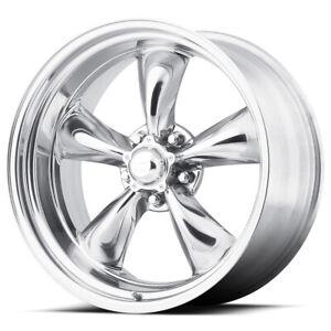 "American Racing VN515 Torq Thrust 2 16x8 5x5"" -11mm Polished Wheel Rim 16"" Inch"