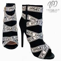 Shoedazzle Women's Ankle Boots Bills Paid Peep Toe Bootie Size 5 Uk.