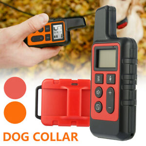 Elektroschock Pet Dog Training E-Halsband Anti-Bark Obedience Fernbedienung]