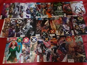 X-Men by Jonathan Hickman COMPLETE + bonus full run lot w Giant Size X of Swords