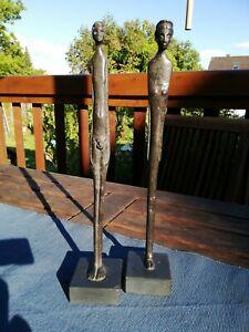 Bronze Akte Frau und Mann