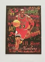 2020 Michael Jordan Bulls ACEO Custom Hot Numbers Style Gorgeous card RARE