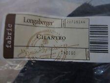 Longaberger Cilantro Basket Liner Indigo Navy Fabric