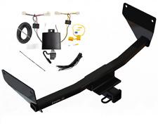 Trailer Tow Hitch For 19-20 Toyota RAV4 All Styles Receiver & Wiring Harness Kit