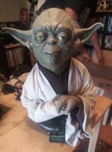Sideshow Life-Size Yoda Bust.