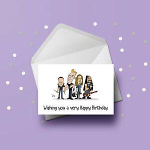Metallica 03 Birthday Card - Free 1st class postage