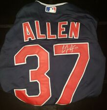 90ea5372b CODY ALLEN Signed Autographed CLEVELAND INDIANS Stitched Jersey XL