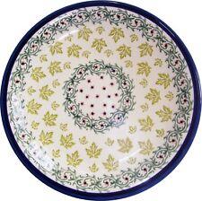 "Boleslawiec Polish Pottery UNIKAT Dinner Plate ""Vermont"""