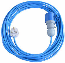 15m Extension Lead For Bouncy Castle Blowers Fans 13 AMP to 16 AMP 16A Cable
