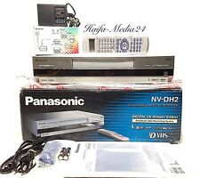 Panasonic NV-DH2 HighEnd D-VHS / S-VHS Recorder für NTSC-NORM 1 Jahr Gerwähr.