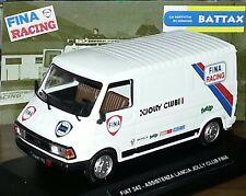 # 1/43 FIAT 242 ASSISTENZA LANCIA FINA RACING RALLY DIORAMA CODE3 MIB #