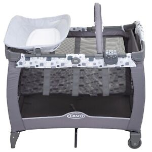 Graco Contour Electra Travel Cot With Bassinet