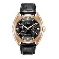Citizen Eco-Drive Paradex Men's Rose Gold Tone Case 44mm Watch BU4013-07H