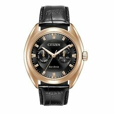 Citizen Eco-Drive Paradex Men's Rose Gold Tone Case 44mm Watch BU4013-07H