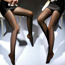 Crotchless Bright Shinning Sheer Stockings Pantyhose Tights Lingerie, UK: 6-12