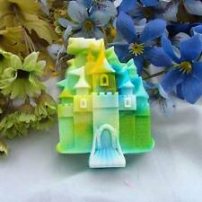 Castle Soap Mould Flexible Silicone Resin Mold Polymer Clay R0192