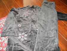 EUC Hanna Andersson Snowflake Outfit - Size 120