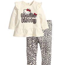 H&M Sets und Kombinationen für Baby Mädchen