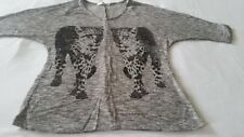 Trendy Zone Women's Junior Leopard Shirt, Size S