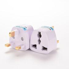 Universal Travel Adapter AU US EU to UK 3 Pin AC Power Plug Adaptor Connector JG