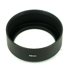 New 49mm Standard Metal Lens Hood Screw mount 49 mm for Canon Nikon Sony Pentax