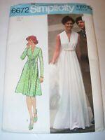WOMENS UNCUT SIMPLICITY 6672 Sewing Pattern WEDDING FLOWER GIRL DRESS SIZE 8
