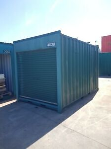 USED 4m long / 2.44m wide 2.6m High shipping container / Portable storage shed