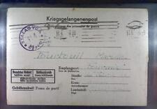 Camp Stalag VIIA Moosburg 1944 POW Prisoner France Kriegsgefangenenpost L114d