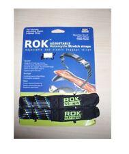 "Rok Straps MotorBike Strap it Luggage Stretch Strap 30"" 750mm Twin Pack free shi"