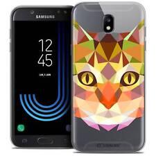 "Cover Case for Samsung Galaxy J7 2017 J730 (5.5 "") Polygon Animal Soft Grip"