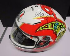 Valentino Rossi signed AGV K-3 SV Helmet : 1998 Imola.  + COA & Photo Proof