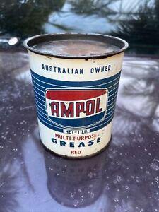 AMPOL 1lb Grease Tin Australia