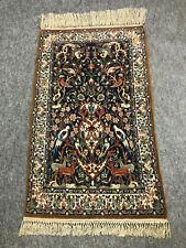 Isfahan fein aus Persien,  Korkwolle auf Seide, tolles Muster    ca, 110 x 66 cm