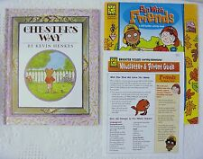 Chester's Way by Kevin Henkes + Friendship Workbook, Learning Guide, Ages 4 to 8