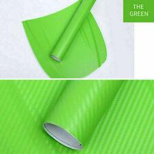 3d Colorful Carbon Fiber Vinyl Car Wrap Sheet Roll Film Sticker Decal 50cm90cm