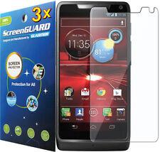 3x Clear LCD Screen Protector Guard Motorola Droid RAZR HD / RAZR MAXX HD XT926