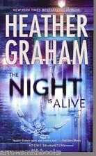 Heather Graham  The Night Is Alive   Krewe of Hunters Paranormal Romance Pbk NEW