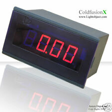 3-1/2  Red LED AC 20A Digital Amp Current Panel Meter
