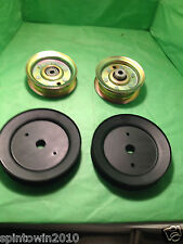 "CRAFTSMAN 42"" DECK RIDING MOWER IDLER & MANDREL PULLEYS 131494 173436 153535"