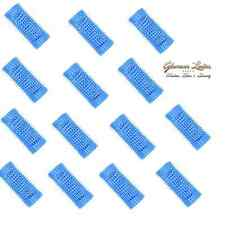 Hair Tools Stohr Hair Rollers, Pin-Cut Hair Rollers 14 x Blue 20mm + Roller Pins