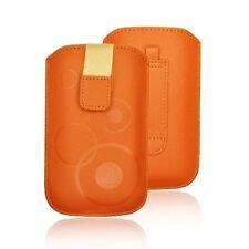 Bolsa Universal para Samsung Galaxy s5 s5 neo/Sony Xperia Z Funda Estuche Orange