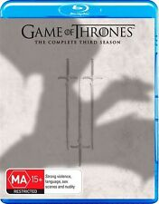 Game Of Thrones : Season 3 (Blu-ray, 2014, 5-Disc Set)