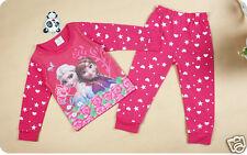 Frozen PIJAMA Pijama Azul Rosa para Chica Set Infantil Ana Elsa Vendedor Gb